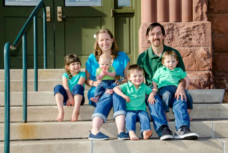 Family Portrait Photography in Old Town Flagstaff, Arizona