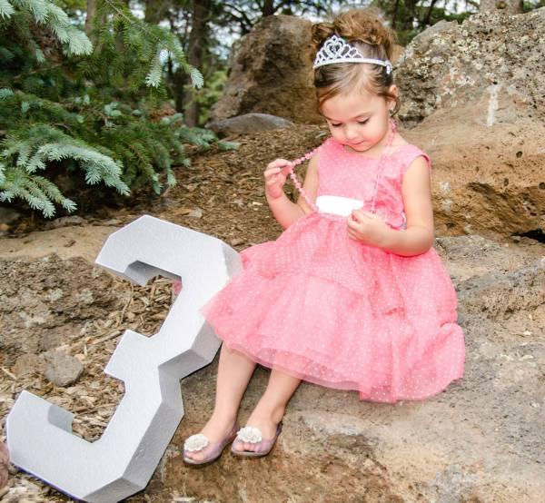 Birthday Princess Portrait Phootography