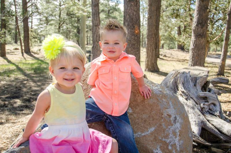 Twin Toddler Portrait Photography